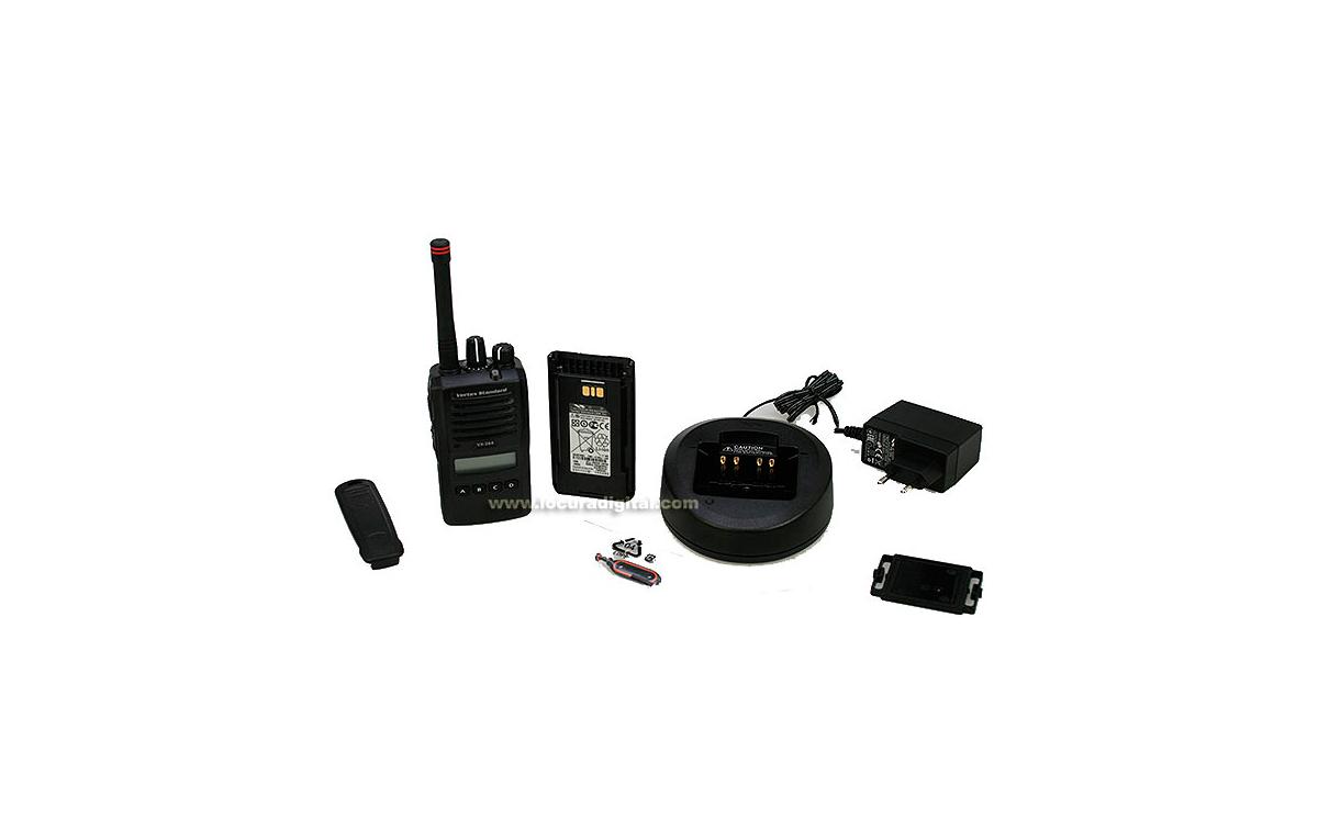 VERTEX STANDARD VX-264 UHF WALKIE PROFESIONAL CON TECLADO 403 - 470 MHz