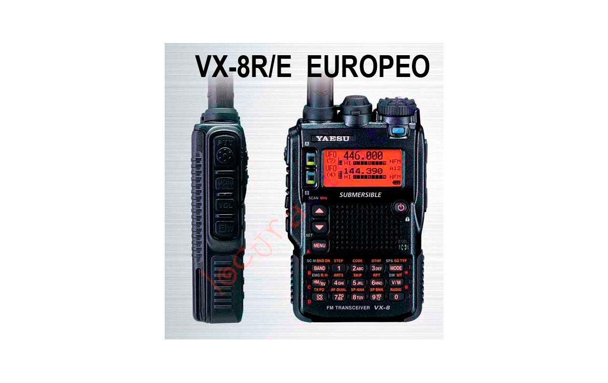 YAESU VX 8DE Walkie Talke tri- banda,  sumergible. Potencia de 5W FM 50/144/430 MHz !! NUEVO MODELO