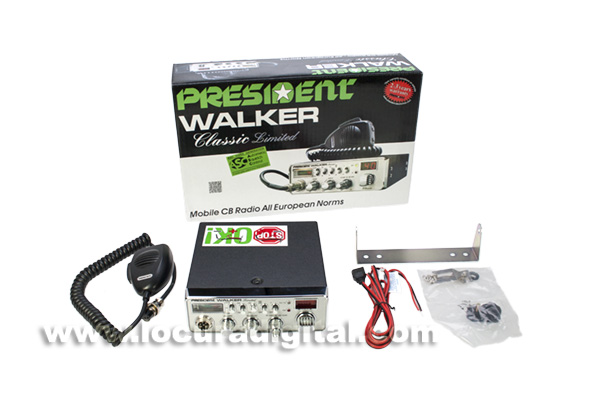 PRESIDENT WALKER CHROME CLASSIC Limited Edition CB/ AM/ AM