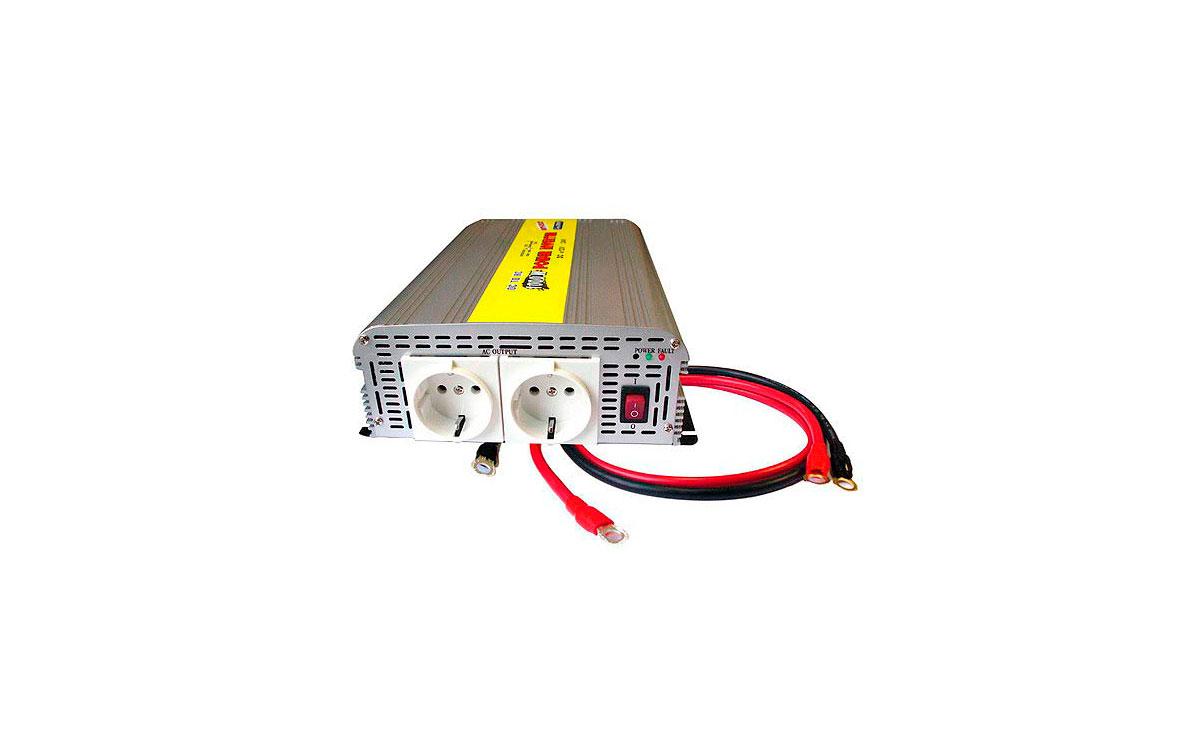 WHS1000 24. INVERSOR 24 V. a 220 V. Potencia 1000 WAT.