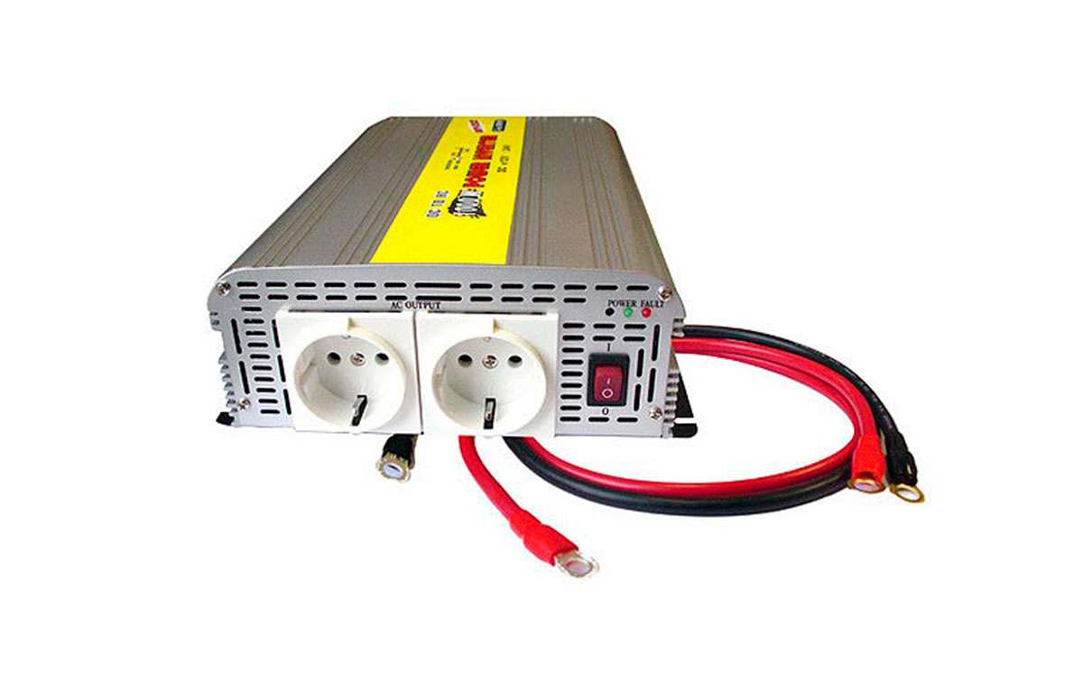 WHS800 24 Inversor 24 V. a 220 V. Potencia 800 watios
