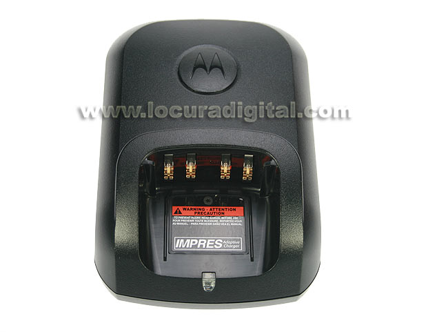 WPLN-4226 Base Cargador motorola unitario IMPRES para walkies DP-3400 / DP-3401 / DP-3600 / DP-3601