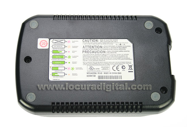 Transformador ref. EPNN 5752B + Cazuela cargador de sobremesa ref. WPLN4226A
