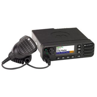dm 4600vhf motorola dmr mototrbo móvil profesional vhf 136-174mhz. display, potencia 25 w
