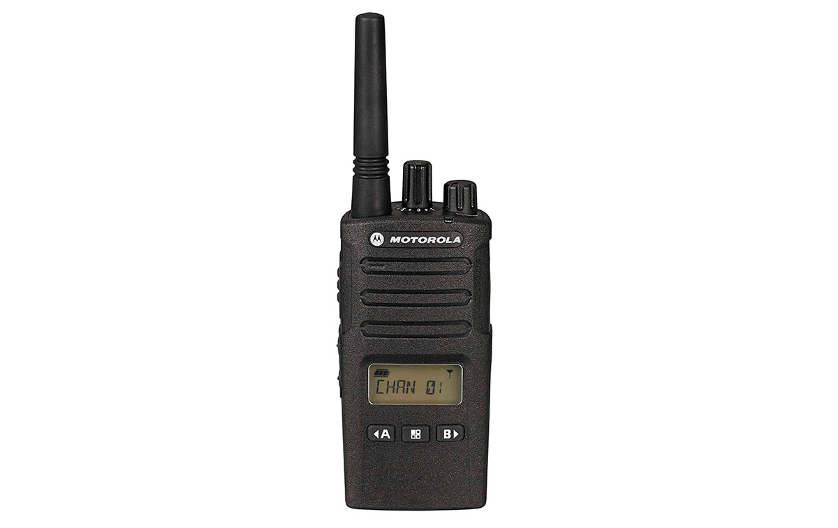 motorola xt460 walkie uso libre pmr446 con display,8 canales. bateria litio