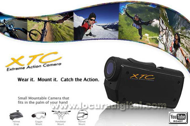 XTC-300 Camera MIDLAND extreme use Full HD 1920 x 1080