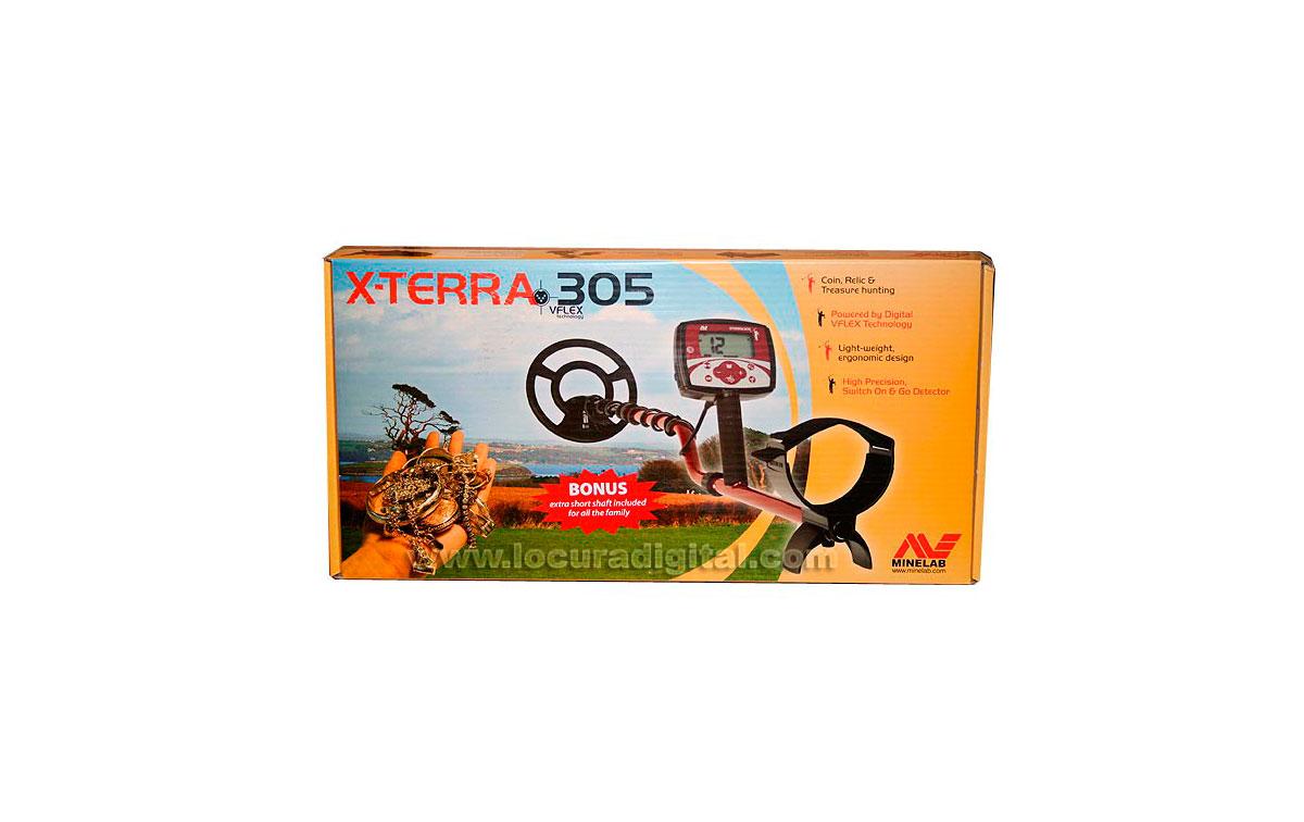 X-TERRA 305 MINELAB X-TERRA 305 detector metales especial oro y monedas.