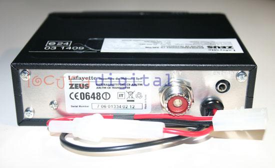 lafayette zeus black. emisora cb 27 mhz. de altas prestaciones. color negro.