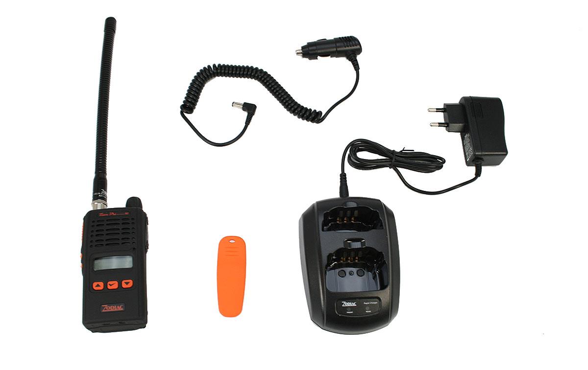 ZODIAC ZTEPR-WA 80 walkie 66-88 Mhz.Canales 255.Modelo Waterproof IP67