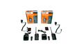 TL-77 KIT6  WALKIE PROFESIONAL DE USO LIBRE SIN LICENCIA PMR 446 X 2 WALKIES TL 77 + 2 MICROFONO ALTAVOZ