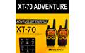 MIDLAND XT- 70 AVENTURE  Pareja de Walkies-talkies PMR446 premium, alcance 12 Km Uso libre