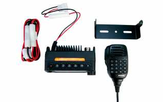 MAAS AMT-200-UV Emisora movil mini  DUAL BAND144/430 MHZ VHF/UHF, ultra-compacto (121,5 x 65,5 x 42,5 mm)