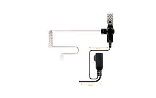 PIN39S2 NAUZER micro-auricular pinganillo orejera para ICOM
