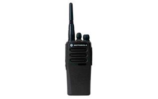 MOTOROLA DP1400 UHF A Walkie analógico actualizable a digital. UHF 403-470 Mhz.