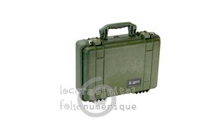 1520000130 Maleta de protección Verde Caqui con espuma