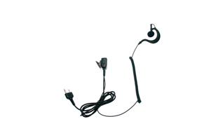 NAUZER PIN29S Micro auricular orejera PTT rizado negro