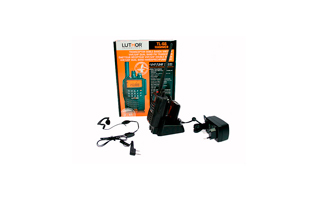 LUTHOR TL-66 HAMMER Walkie doble banda VHF/UHF.  IP-65 + BATERIA ALTA CAPACIDAD TLB-409