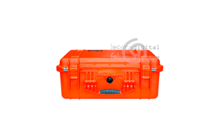 1550000150 Maleta de protección Naranja, con espuma