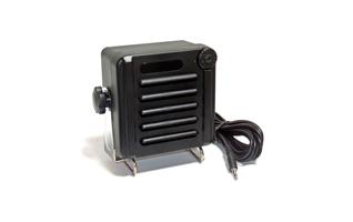 Altavoz profesional para walkie talkies con control de volumen conmutable color negro robusto. Soporte de montaje de salpicaduras seg�n IP 67 listo para la conexi�n con jack de 3,5 mm Especificaciones resistente al agua (IP67) . Control de volumen de mayo