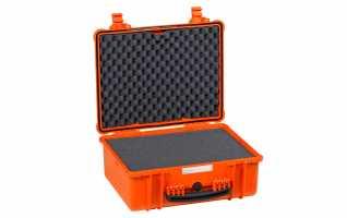 4820-O Maleta Explorer naranja con espuma Int- L 480 x A 370 x P205 mm