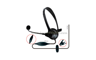 Nauzer HEL770-Y4. High quality headset with PTT and VOX system. For YAESU VERTEX handhelds