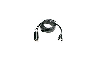 CA10X2 BARRISTER Cable conexión doble para sistemas visión trasera 10 mts.
