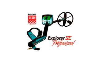 EXPLORER SE PROFESSIONAL MINELAB Detector metales PROFESIONAL