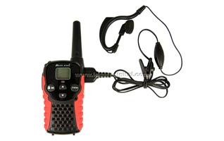 MIDLAND G-5C uso gratuito casal walkies PMR 446 + fone de ouvido PIN19 DOS -S