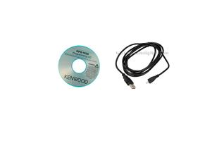KPG182D Cable de programaci�n USB a MICRO-USB B, +  SOFTWARE de gestion para KENWOOD PKT-23. Adem�s de datos, este cable puede servir para cargar el walkie desde un ordenador por el propio conector del aparato.