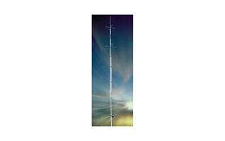 R-8 CUSHCRAFT Frequency, VERTICAL 6-10-12-15-17-20-30-40 MHZ.