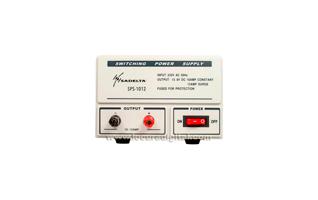 SADELTA SPS-1012 fuente de Alimentación conmutada 13,8 volt. 10 a 12 amperios