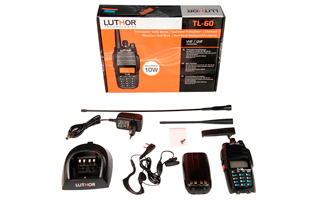 LUTHOR TL-60  Walkie Doble Banda 144/146 VHF-430/440 UHF,10 watios!!!!