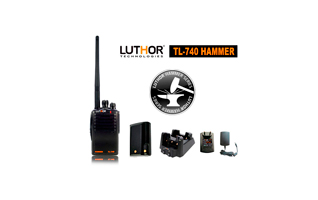 LUTHOR TL-740 HAMMER Walkie  PROFESIONAL VHF 16 CANALES