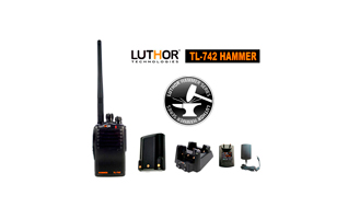 LUTHOR TL-742 HAMMER Walkie PROFESIONAL UHF 16 CANALES