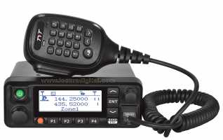TYT-MD-9600 Emisora Analogica y Digital DMR, Doble banda 144/ 430 Mhz