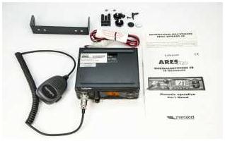 ARESBLACK. CB 27 Mhz marque LAFAYETTE modèle NOIR ARES. AM / FM 4 watts. couleur noire.