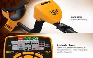 GARRETT ACE400i dispone de cinco modos de discriminaci�n