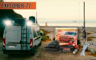 SADELTA EXPLORER-27 KIT AUTOCARAVANA Emisora CB 27 Mhz Canales 40AM/FM