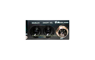 ALAN 78 PLUS MULTI CB 27 Mhz transmitter.   AM / FM. controls