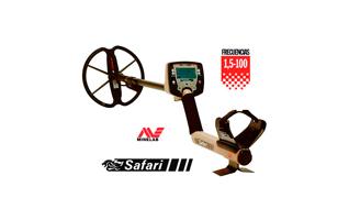 SAFARI MINELAB modelo Safari. Detector de metales digital, fácil y muy profundo.