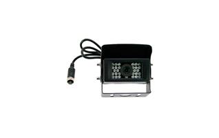 BRV422 BARRISTER Camara Color sistema marcha atr�s.Con calefactor. Color Negro