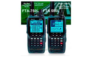 YAESU FTA-750L Transceptor Banda Aerea 108-136, 200 canales. VOR ,ILS y GPS