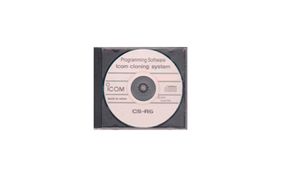 CSR6 ICOM CS-R6 software para IC-R6