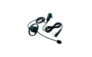 KHS-28FMicroauricular de presilla con auricular orejera con micrófono