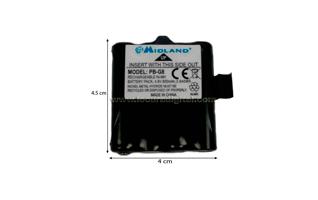 PBG8 Bateria para alan G8, M99