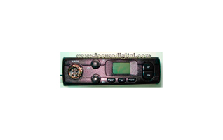 LAFAYETTE ARES BLACK KIT A. 27 Mhz CB transceiver. Color BLACK.front view