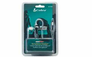 COBRA GA-SV01Micro-Auricular tubular, con bot�n  (PTT)