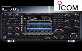 ICOM IC-7851. EMISORA HF / 50 Mhz
