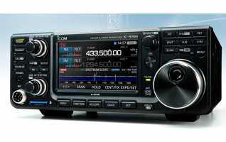 ICOM IC-9700 Transcetor VHF/UHF 144, 430/440, 1200 MHz con 100w