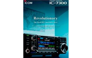 ICOM IC-7300 Transceptor base HF / 50 / 70 Mhz